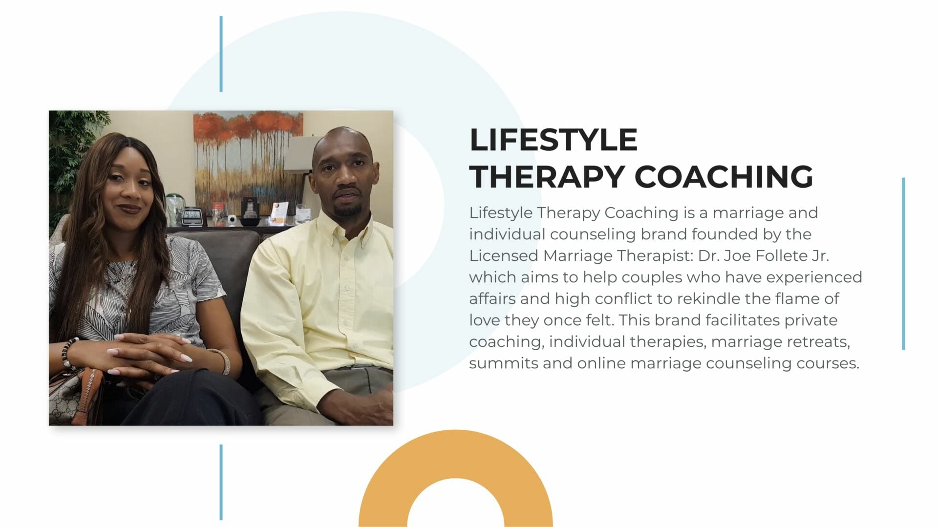 lifestyle therapy coaching therapist advertising and marketing