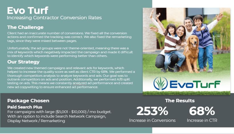 Evo Turf Marketing Strategy