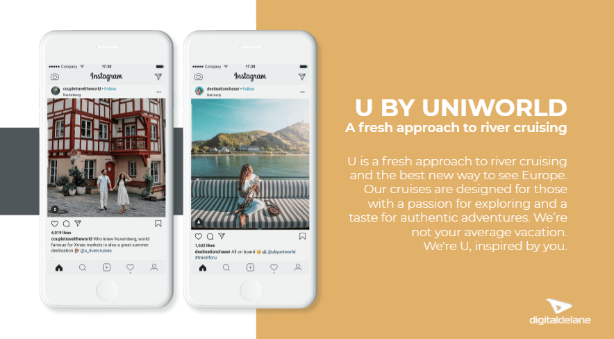 U by Uniworld Travel Marketing Strategy