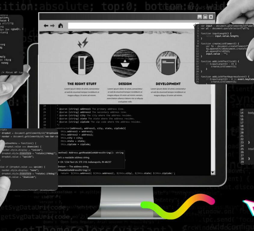 DD Graphics for Custom Website Development